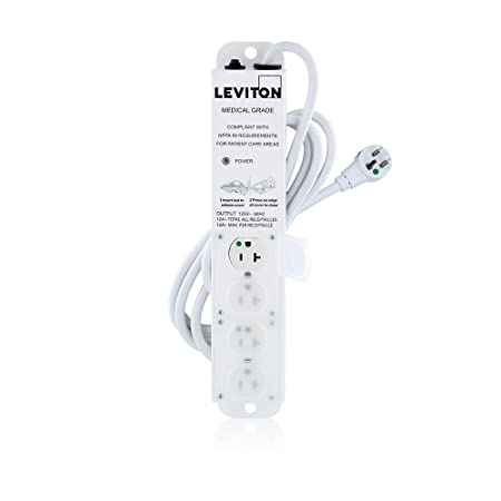 Review Leviton 5304M-2N7 4-Outlets 7-Feet