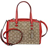 Coach Signature Stanton Carryall 26 Convertible Small Satchel 36905