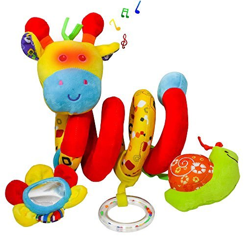 Beautiful High Quality Crib Toy or Stroller Toy Wraps Around the Crib or Carriage or Even Your Car Seat - Best Baby Present.