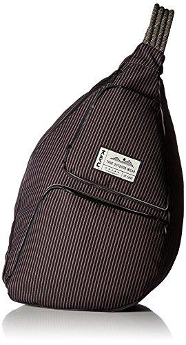 KAVU Clarkston Bag, Black Stripe, One Size