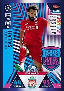 Match Attax Champions League 18//19 Lionel Messi Limitierte Edition Tradingkarte FC Barcelona 18//19