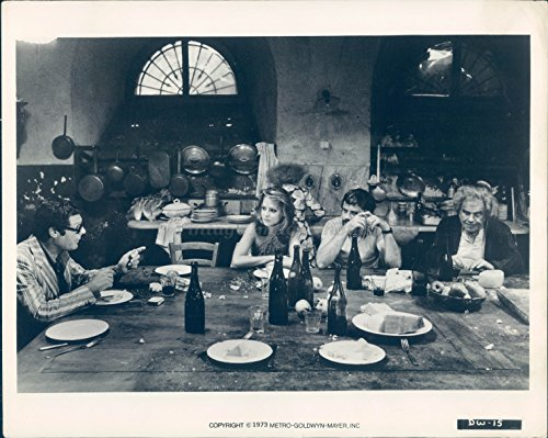1973 Photo Robert Oliver Reed Actor English Macho Image Tough Guy Famous (Oliver Reed Actor)