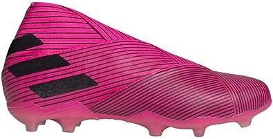 adidas Nemeziz 19+ FG Niño, Scarpe da Calcio, Shock Pink Core Black Shock Pink