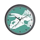 CafePress – Triceratops Wall Clock – Unique Decorative 10″ Wall Clock