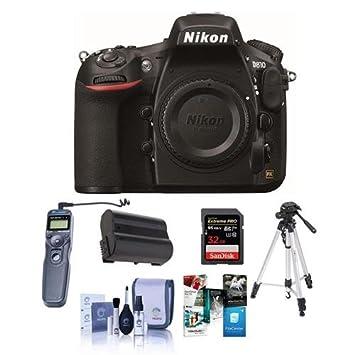 Nikon D810 Cámara réflex digital, 36,3 MP - Bundle con Lexar Pro ...