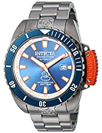 Invicta Men's 'Pro Diver' Stainless Steel Automatic Watch, Grey (Model: 19870)