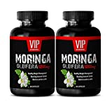 weight loss body shaper - MORINGA OLEIFERA 1200MG - moringa mood enhancer - 2 Bottles (120 Capsules)