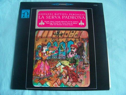 Price comparison product image Pergolesi: La Serva Padrona Ettore Gracis