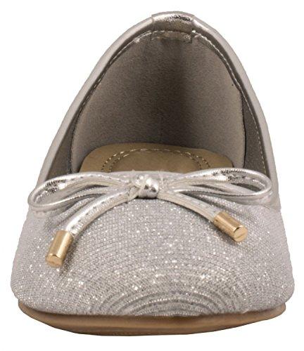 Elara - Zapatillas Mujer plata