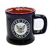 Jenkins Enterprises United States Navy Ceramic Relief Mug