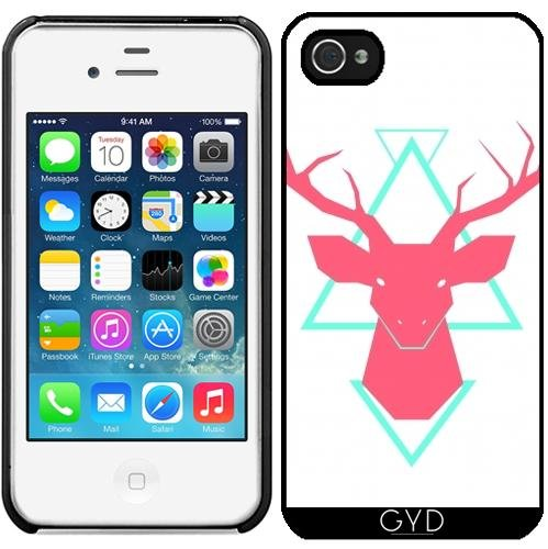 Coque pour Iphone 4/4S - Cerf by adovemore