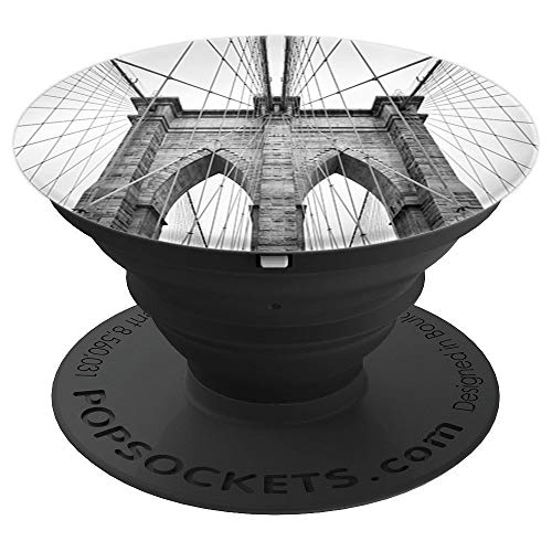 (New York City Manhattan NYC Brooklyn Bridge - PopSockets Grip and Stand for Phones and Tablets)