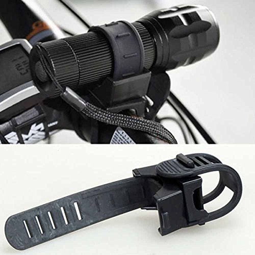 Dressffe,360 Degree Cycling Bicycle Bike Mount Holder for LED Flashlight Torch Clip Clamp