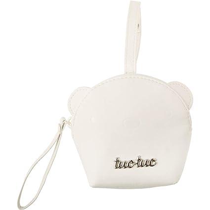 Tuc Tuc Brioche - Portachupete de polipiel, color beige