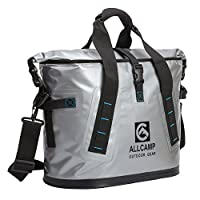 ALLCAMP Hopper Portable Cooler 25L 100% leakproof, ice-for-days designed to carry big food-and-beverage cargoes with ease from ALLCAMP OUTDOOR INC.