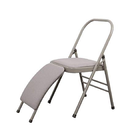 LGQ-LIFE - Silla auxiliar de yoga con pipa de acero, silla ...