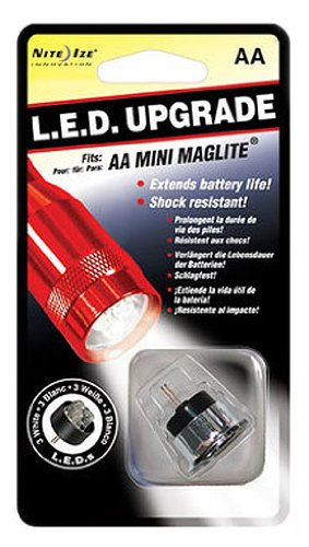 Aa Nite Upgradereplacement 07 Ize 3 Bulb Led Flashlight Lrb For Mini QCrodxtshB
