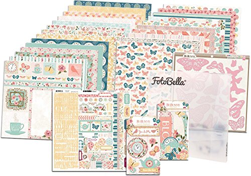 - Bo Bunny Early Bird I Want It All! 12x12 Collection Bundle