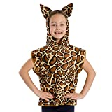 Charlie Crow Giraffe Costume Kids one Size 3-9 Years