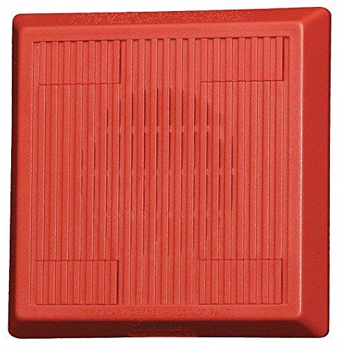 Multitone Horn, 12/24VDC, Red, 5-1/4 in. H