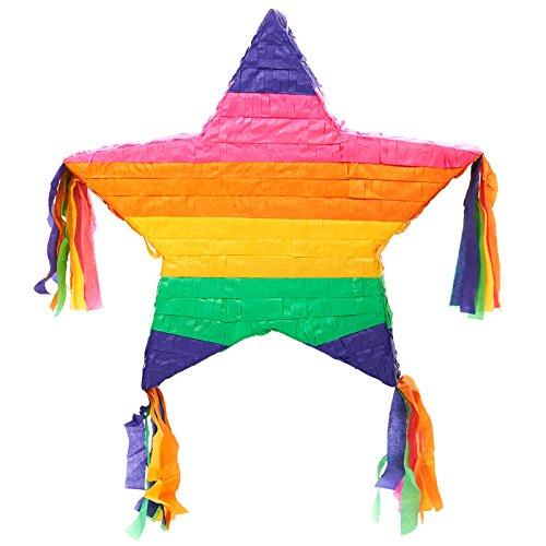 BirthdayExpress Rainbow Star 16