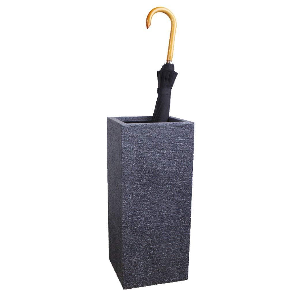 KDFHGLA クリエイティブファッション傘スタンドマグネサイト泥模造セラミック家庭用傘バケツシンプルオフィス傘収納傘バレル傘スタンド B07P7BW3D7