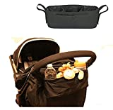 SALE - SCIENCES Stroller Tray,universal fit,lightweight trendy design good for jogging and snack organizing on the run. Black bandeja del cochecito, ajuste universal