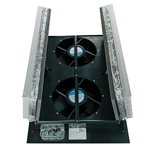 Tamarack Technologies HV1000 R50 Ductless Whole House Fan with R50 Vacuum Insulated Panel (VIP) Doors