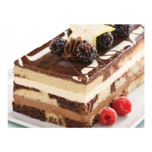 The Original Cakerie Super Size Tuxedo Truffle Mousse Dessert Cake -- 2 per case.