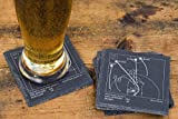 Greatest Spurs 2014 Plays - Slate Coasters