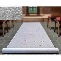 Efavormart 36 x 50ft Floral Lace Aisle Runner