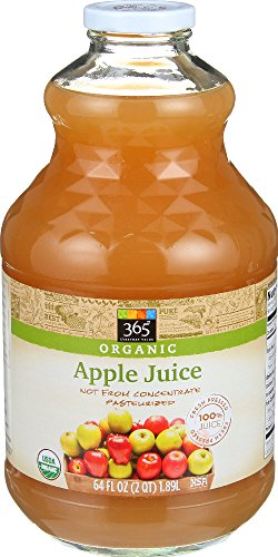 365 Everyday Value, Organic Apple Juice, 64 fl oz