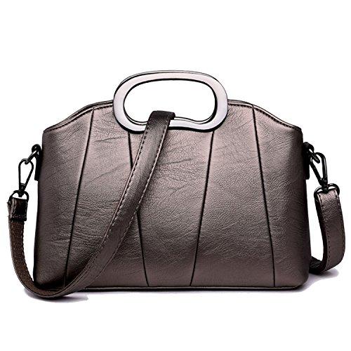 Bag bronze Shoulder Sanxiner Women's Trendy Crossbody A Small Clutches Bags Handbags 1BtBqSPw
