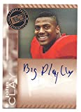 JOHN CLAY 2011 Press Pass BRONZE AUTOGRAPH RARE VARIATION 'Big Play Clay' Rookie Card RC ONLY 18 MADE! #PPSJC...