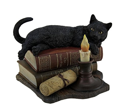 - Veronese Design The Witching Hour Black Cat Sculpture