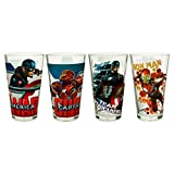 Zak! Captain America: Civil War Glass Tumbler Set Tumblers - 4 Count