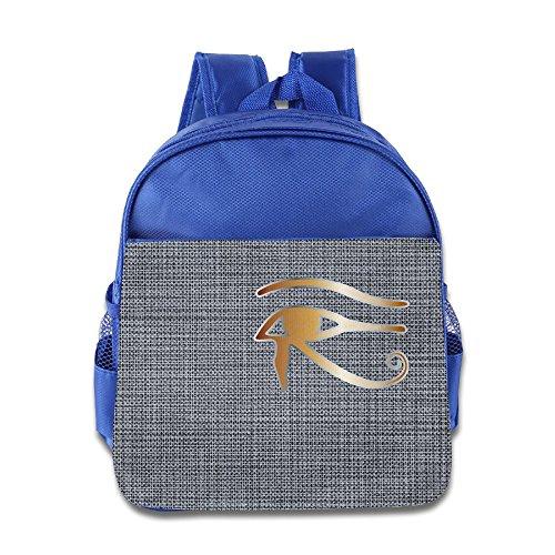 [Fashion Egypt Ankh Horus Eye RoyalBlue One Size Children School Bags] (Black Suit Spiderman Costume 10-12)