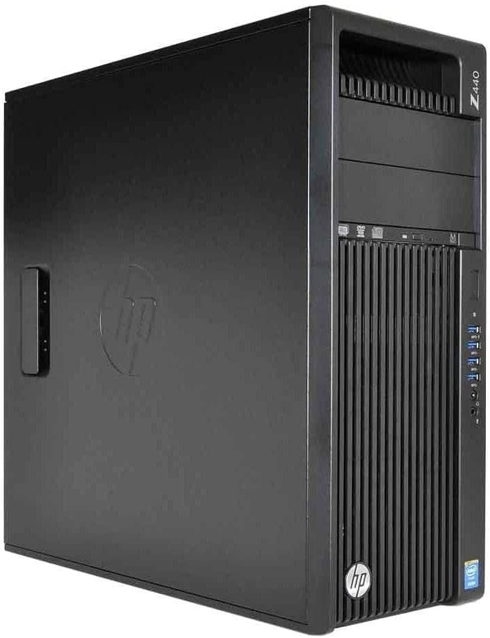HP Z440 Business WorkStation Desktop PC: Intel Xeon E5-1630 v3, 2TB HDD, 32 GB DDR4, NVIDIA Quadro K420, DVD-RW, Windows 10 Pro (Renewed)