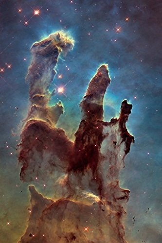 PILLARS of CREATION POSTER Space Astrology - Amazing Nasa Hubble Telescope Shot RARE HOT NEW 24x36