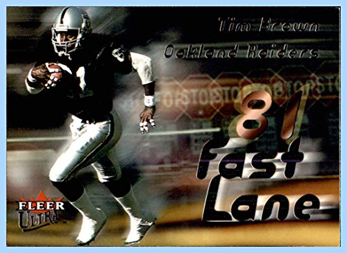 2000 Ultra Fast Lane #4 Tim Brown HOF OAKLAND RAIDERS NOTRE DAME FIGHTING IRISH]()