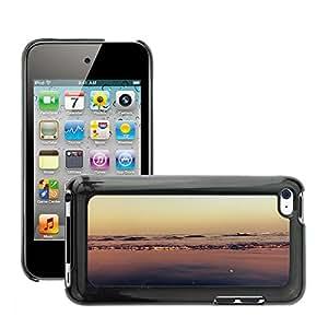 Etui Housse Coque de Protection Cover Rigide pour // M00151361 Vacaciones de verano arena Viajes // Apple ipod Touch 4 4G 4th