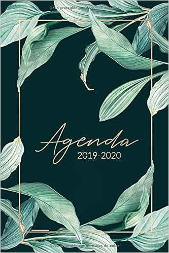Agenda 2019 2020: Organiza tu día - Agenda semanal 15 ...