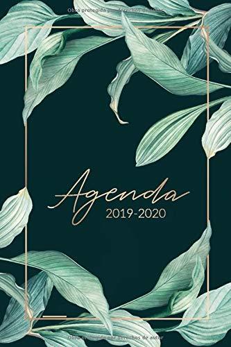 Agenda 2019 2020: Organiza tu día - Agenda semanal 15 meses ...