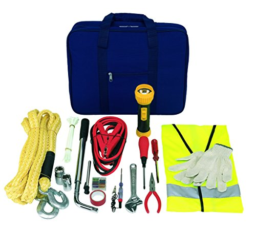Autowerkzeugzubehör mit Werkzeugtasche und Pannenwerkzeug mit sehr viel Zubehör