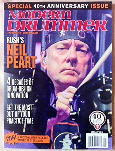Modern Drummer Magazine January 2016 - Rush's Neil Peart ()
