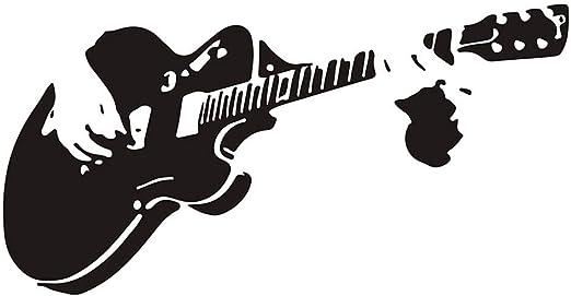 Fangfeen Guitarra Impermeable DIY de la Pared de la Etiqueta ...