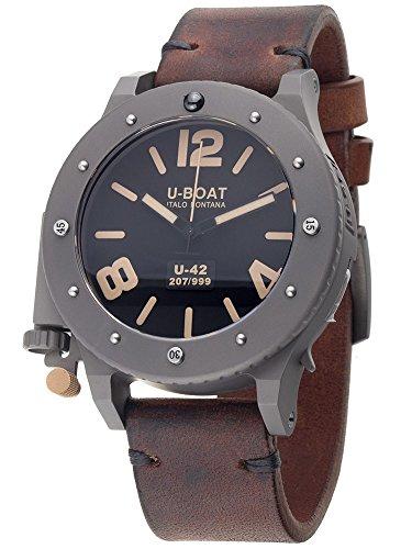 U-Boat Men's 6471 U-42 Auto 47 mm Black Dial Watch
