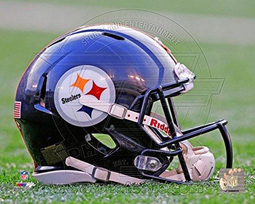 Pittsburgh Steelers Helmet Photo 10 x 8in