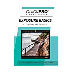 QuickPro Camera Guides Exposure Basics (24 Min. Runtime) - An Introduction to digital photography offers photography instruction for beginning and intermediate photographers. Produced with both the digital SLR and point & shoot user in mi...