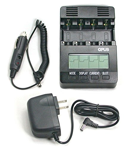 BT-C2400 Battery Charger Analyzer Tester for AA AAA NiMH NiCd rechargeable batteries with Car Adapter